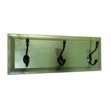 Panel Coat Rack 3-Hook