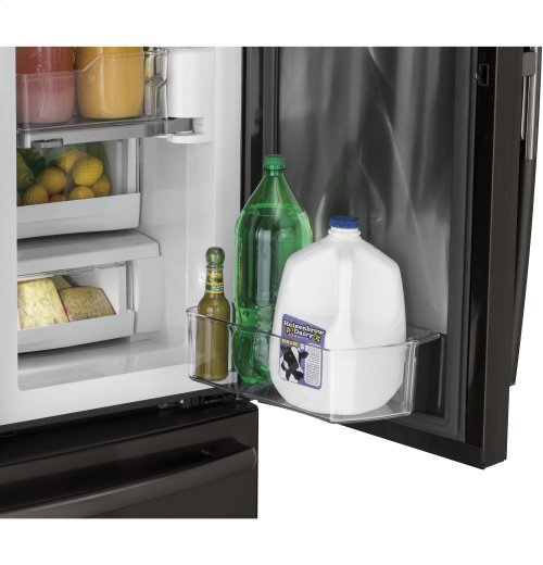 GE Profile™ Series 22.2 Cu. Ft. Counter-Depth French-Door Refrigerator with Door In Door and Hands-Free AutoFill