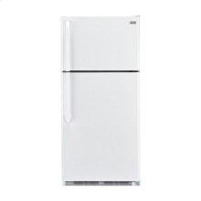 Haier 18.1-Cu.-Ft. Top Mount Refrigerator - white