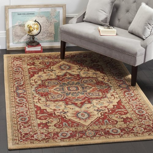 Mahal Power Loomed Accent Rug