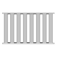 Queen Bed Slats (8 Slats Total)