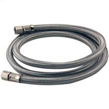 Braided Stainless Steel Ice Maker Connector (4ft)