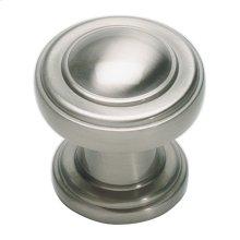 Bronte Knob 1 1/8 Inch - Brushed Nickel