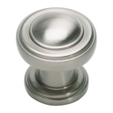 Bronte Knob 1 1/8 Inch - Brushed Nickel