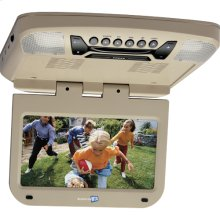 9 inch monitor with built-in DVD player (shale finish)