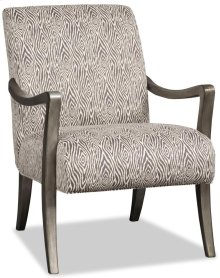 Living Room Dante Exposed Wood Chair 4320