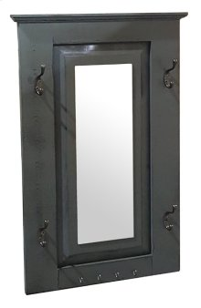 Mini Doorganizer - Vintage Grey over White