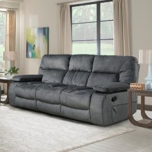 Chapman Polo Manual Triple Reclining Sofa