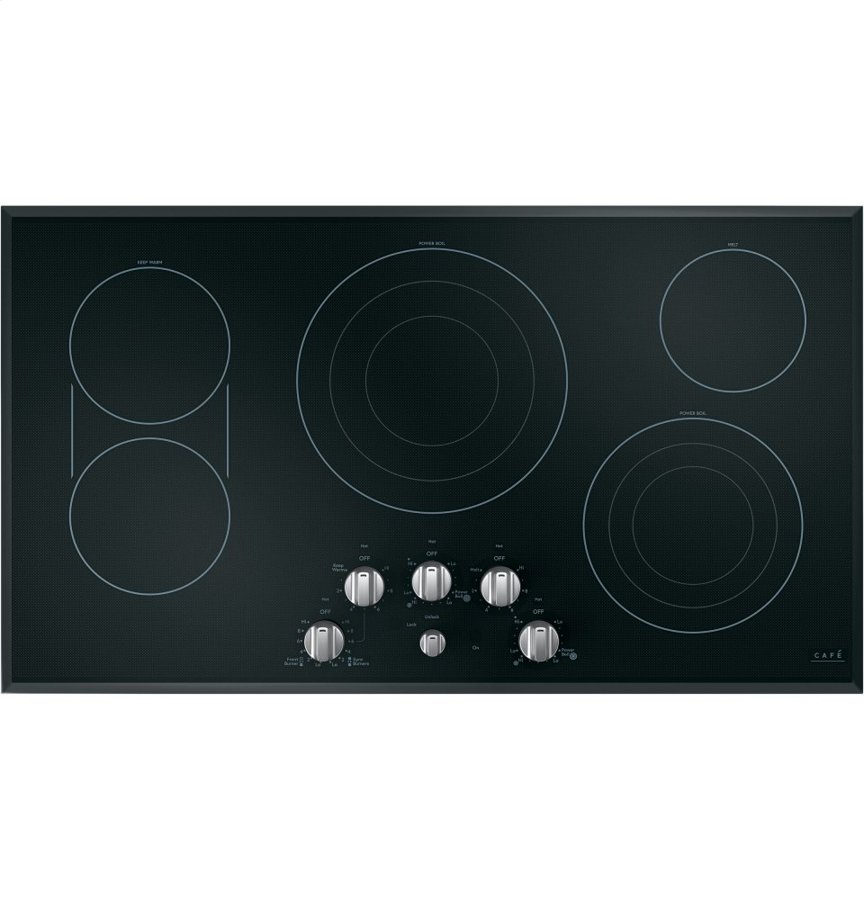 "Caf(eback) 36"" Built-In Knob Control Electric Cooktop