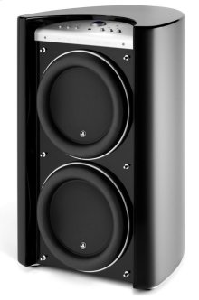 Dual 13.5-inch (345 mm) Powered Subwoofer, Black Gloss Finish