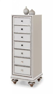 Monterrey Pearl Swiveling Mirror Chest