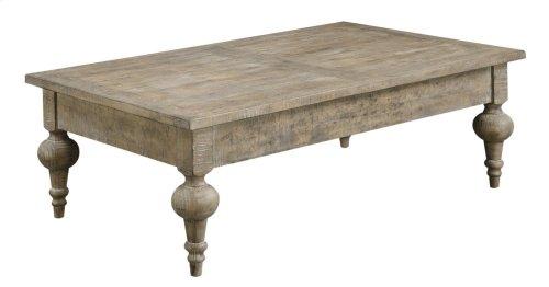 Emerald Home Interlude Cocktail Table-sandstone Finish T560-00