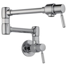 Euro Wall Mount Pot Filler Faucet