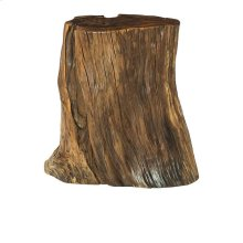 Tree Trunk Accent Table