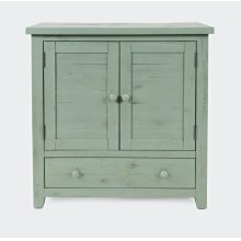 American Folklore Accent Chest - Antique Sage