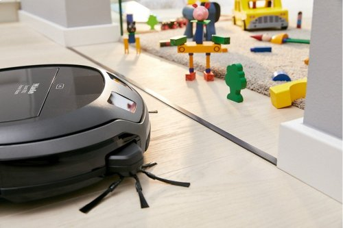 RX-MB Magnetic strip defines areas that should not be cleaned by the robot vacuum cleaner.