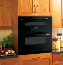 "GE Profile Series 30"" Built-In Single/Double Convection Wall Oven"