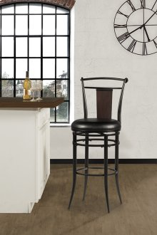 Midtown Swivel Barstool