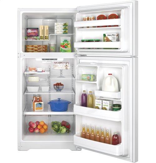FACTORY BLEMISH UNIT - GE® ENERGY STAR® 18.2 Cu. Ft. Top-Freezer Refrigerator
