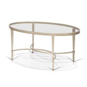 Mitzi - Oval Cosmopolitan Coffee Table