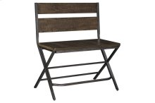 Kavara Double Bar Stool, Medium Brown