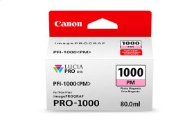 Canon PFI-1000 Photo Magenta Ink Tank Photo Magenta Individual Ink Tank