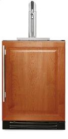 24 Inch Overlay Solid Door Beverage Dispenser - Left Hinge Overlay Solid Product Image