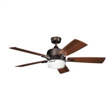 Leeds Collection 52 Inch Leeds LED Ceiling Fan OBB