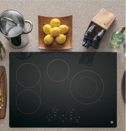 """GE® 30"""" Built-In Touch Control Electric Cooktop"""