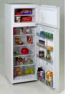 Model RA7306WT - 7.4 CF Two Door Apartment Size Refrigerator - White