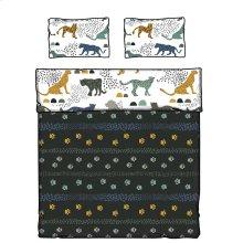 Kids Comforter and Pillowcase Safari Wild Cats - 54''