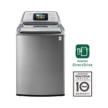 Smart ThinQ 4.7 cu. ft. Ultra Large Capacity High Efficiency Top Load SmartWasher