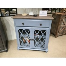 Aurora Hills 4 Door Accent Chest-b. Blue/bisque