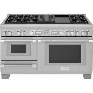 Thermador60-Inch Pro Grand® Commercial Depth Dual Fuel Steam Range