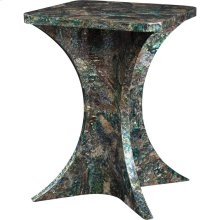 PAUA SHELL INLAID OCCAS. TABLE