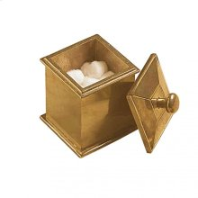 Square Canister - JR100 White Bronze Brushed