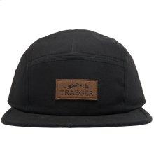Traeger Black 5 Panel Adjustable Hat