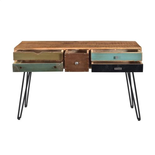 5 Drw Console Table