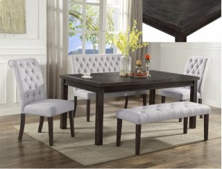 Palmer 6 Piece Dining Set w/ Bench