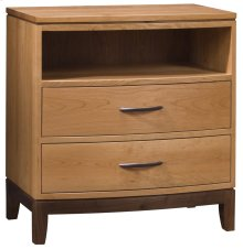 Carlton 2-Drawer Night Stand