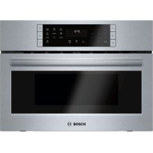 800 Series built-in oven with microwave-function 27'' Stainless steel
