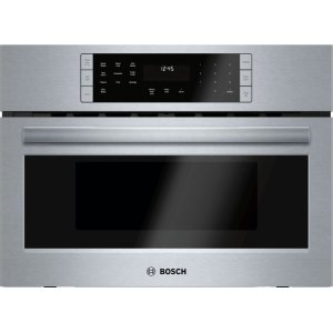 Bosch800 Series built-in oven with microwave-function 27'' Stainless steel