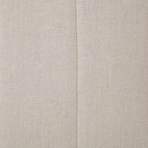 Dark Linen Cover Nate Dining Chair
