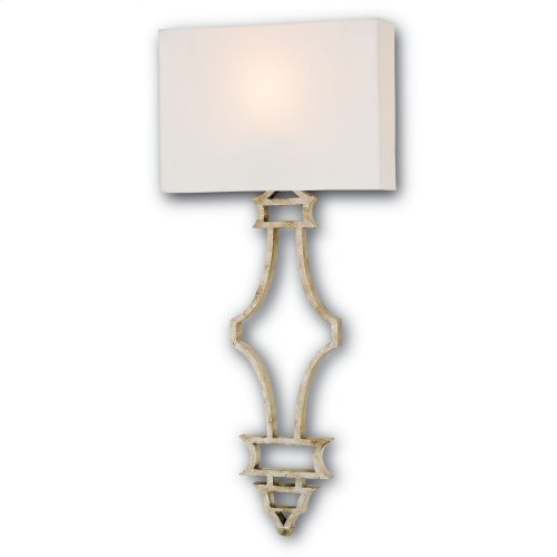 Eternity Silver Wall Sconce