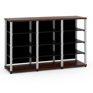 Salamander DesignsSynergy 40 Triple-Width Core Module,Walnut with Aluminum Posts