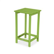 """Lime Long Island 26"""" Counter Side Table"""