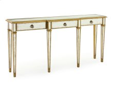 Eglomise Console Table