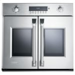 """MonogramMonogram 30"""" Professional French-Door Electronic Convection Single Wall Oven"""
