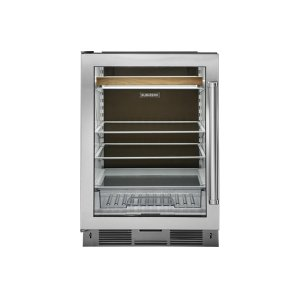 SubzeroUndercounter Beverage Center Cocoa Black Rear Wall