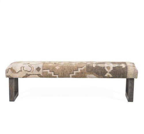 Clover Kilim Bench